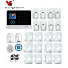 Yobang Security Wifi Alarm Security System 433MHz Door Sensor LCD Display APP Remote Control Home Burglar Alarm Securit