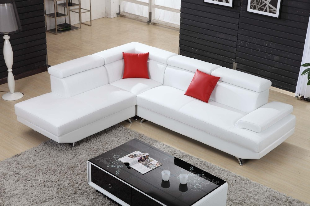 Aliexpress.com : Buy Unique Design Modern Living Room Leather Corner Sofa  Set Furniture 0411 From Reliable Sofa Sets Furniture Suppliers On China  Building ...