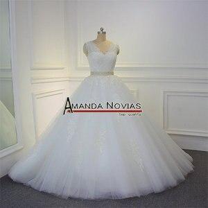 Image 2 - Impresionante vestido de novia de alta calidad 2019 Amanda Novias 100% fotos actuales