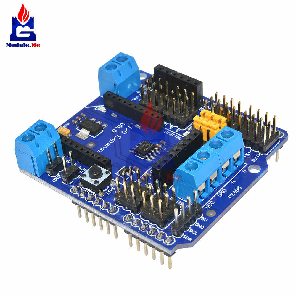 Standard I/O Expansion Shield V5 Xbee Sensor Shield RS485 V5 for Arduino Funduino Board Module