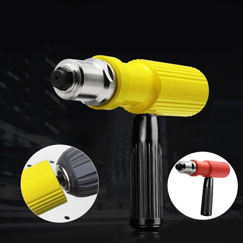 Electric Rivet Nut Gun Set Riveting Adapter Insert For Cordless Drill Riveter Gun Nut Tool Riveting Drill Adapter