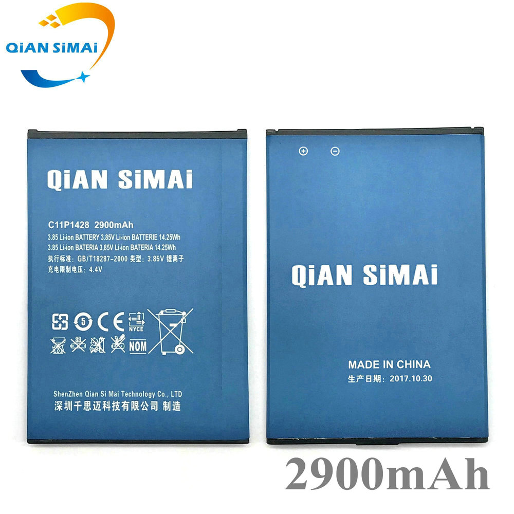 QiAN SiMAi New C11P1428 2900mAh <font><b>Battery</b></font> <font><b>For</b></font> <font><b>Asus</b></font> <font><b>Zenfone</b></font> <font><b>2</b></font> Zenfone2 <font><b>Laser</b></font> <font><b>ZE500KL</b></font> ZE500KG (can not fit ZE551ML ZE550ML ) image