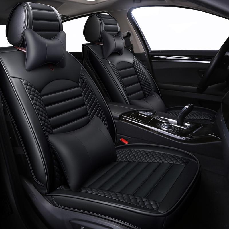 En cuir Universel de Bande Dessinée housses de siège de voiture pour bmw serie 1 116i 3 gt 318i 320i 320i f30 4 série e30 e30 m3 e34 de 2010 2009 2008 - 2