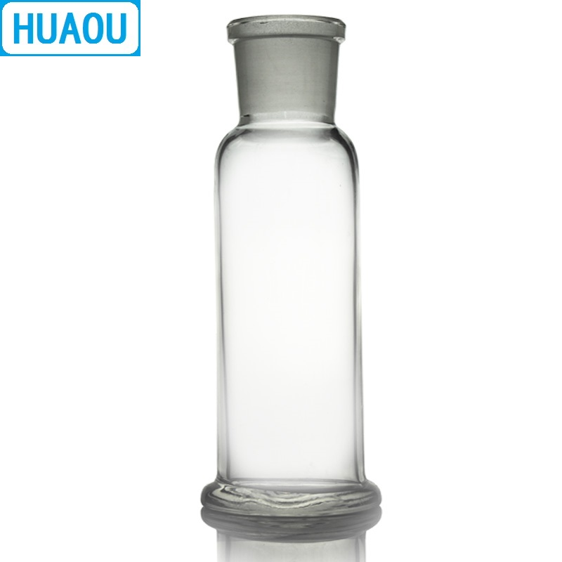 Image 3 - HUAOU 500mL Gas Washing Bottle Drechsel Ground Mouth 34/35 Clear Glass Laboratory Chemistry Equipment-in Laboratory Bottle from Office & School Supplies