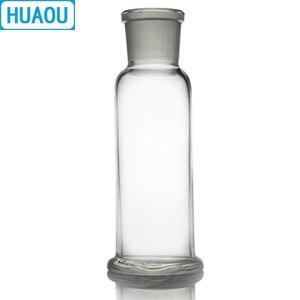 Image 3 - Huaou 500 ml 가스 세척 병 drechsel 그라운드 입 34/35 투명 유리 실험실 화학 장비