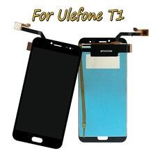 חדש 5.5 שחור עבור Ulefone תאומים פרו/Ulefone T1 מלא LCD תצוגה + מסך מגע Digitizer עצרת 100% נבדק