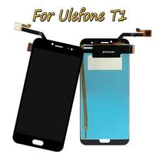جديد 5.5 الأسود ل Ulefone الجوزاء برو/Ulefone T1 كامل شاشة الكريستال السائل + مجموعة المحولات الرقمية لشاشة تعمل بلمس 100% اختبارها