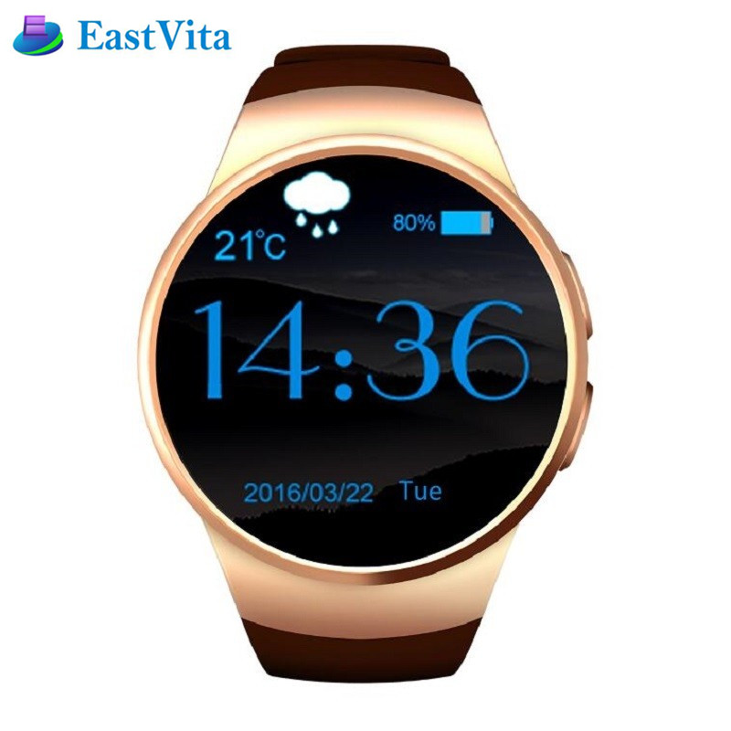 EastVita KW18 Bluetooth Smartwatch Support SIM TF Card Smart Watch Android/IOS Heart Rate Monitor Watch wearable devices SB02 f2 smart watch accurate heart rate statistics i bluetooth watch compatible android smart wearable ios system
