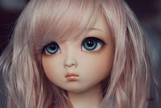 HeHeBJD 1/4 Girl Dami bjd (open eyes or ELF eyes)  beautiful girls for sale free shipping 3