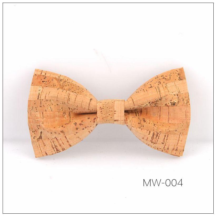 New Handmade Wooden Cork Bamboo Bow Tie Bowtie Men's Cravat 45