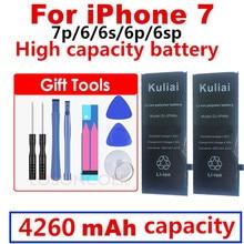 100% חדש סוללה עבור iPhone 6 בתוספת עבור 6 s בתוספת החלפה עבור iPhone 6 בתוספת 5.5 סוללה כלים + מדבקה