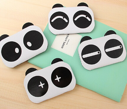promotional gifts fun creative retro cute panda design notepad