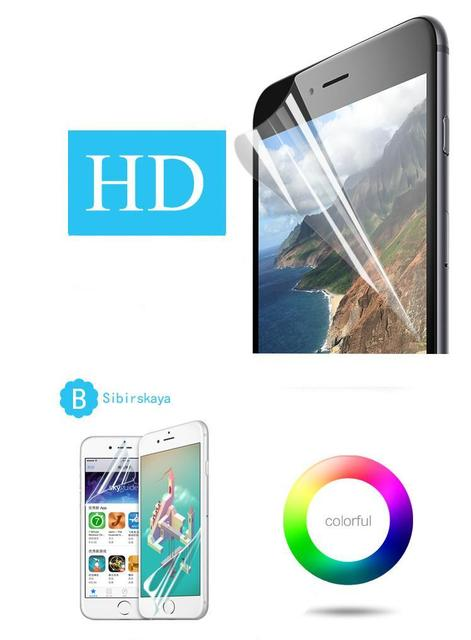 Premium Full Cover HD Clear Soft Screen Protector For BlackBerry Priv 5.4 inch Protective Film Guard