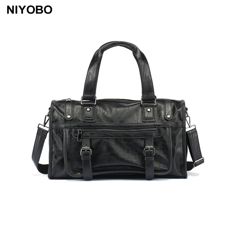 High Quality Men Handbag PU Leather Shoulder Bags usiness Briefcases Laptop Large capacity Man Travel Totes Male Crossbody Bags