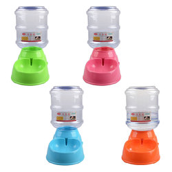 New Arrival Pet Automatic Feeder Water Drinking Fountain 3.5L Cat Dog Intelligent Feeding Vessels Animal Pet Bowl Water Bowl