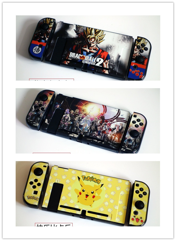 5Pcs/Lot Protecter Cover Cases For Nintend Switch Console and Controller Game Cover Cases  Accessories