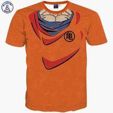 2017 Mr.1991INC New style harajuku Men t-shirt humorous print Dragon Ball Cosplay 3d t-shirt animated slim summer time tops tees t shi