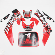 RED DECALS STICKER ROKETA SSR COOLSTER RICARDO For HONDA XR50 CRF50 DIRT PIT BIKE new