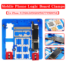 PCB Holder Jig Fixture for iPhone XR/8P/8/7P/7/SE/6SP/6S/6P/6G/5S A10 A9 A11 CPU IC Chip Circuit Board Repair Tools недорго, оригинальная цена