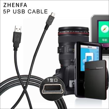 USB zhenfa PC Cable de sincronización de datos de cable para la cámara de CANON IFC-300PCU EOS 10D EOS M EOS 80D EOS 5D Mark II Mark III rebelde T1i T2i T4i