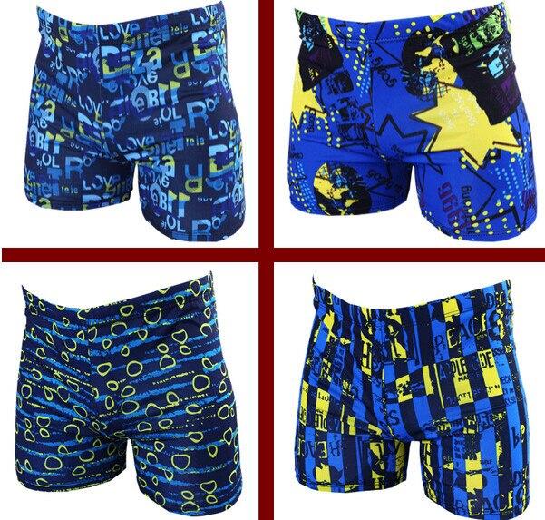 Breathable Men's Swim Trunks Summer Quick Dry Bathing Boxer Trunks  Beach Swimwear