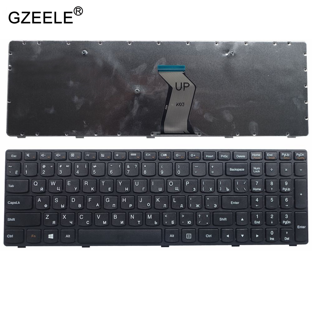 GZEELE الروسية محمول لوحة مفاتيح لأجهزة لينوفو G500 G510 G505 G700 G710 G500A G700A G710A G505A G500AM G700AT RU 25210962 T4G9-RU جديد