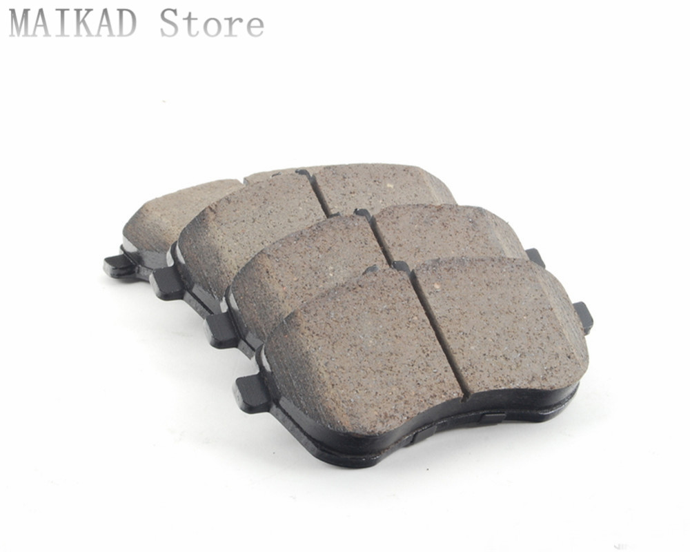 Brand New Front and Rear Ceramic Brake Pads for Chevrolet Corvette 1997-2008