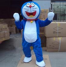 Super High Quality Doraemon Mascot Costume Robot Cat Cute Character Anime Manga Adult Suit Cartoon