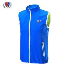 Wholesale- EVERIO golf Sportswear men's autumn winter Outdoor Golf Vest Windproof warm Fleece golf sleeveless jacket(China)
