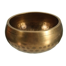 Textured Hammered Tibetan Healing Singing Bowl