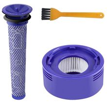 Post & Pre Motor HEPA Filters Replacement for Dyson V8 and V7 Cordless Vacuum Cleaners