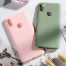 Xiaomi Redmi S2 Case 5.99 Soft Silicone Matte Candy Color for coque funda On S 2 phone Cover