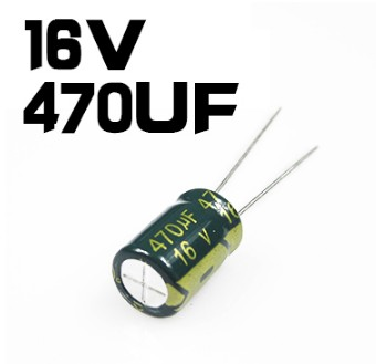 1000 PCS 470UF/16V 8*12mm DIP-2 16V 470UF Aluminum Capacitor, Electrolytic Capacitor 470uF16V drdj1 aluminum 10v 1000uf electrolytic capacitor for diy project black 50 pcs