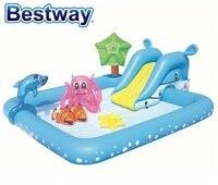 53052 Bestway 2.39mX2.06mX86cm Fantastic Aquarium Play Pool 53052 94x81x34 Recreation Center Pool Baby Bath Pool Ball Pool
