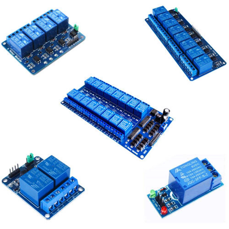 Hot 1//2//4//8 Channel Relay Board Module Optocoupler LED for Arduino PiC ARM AVR