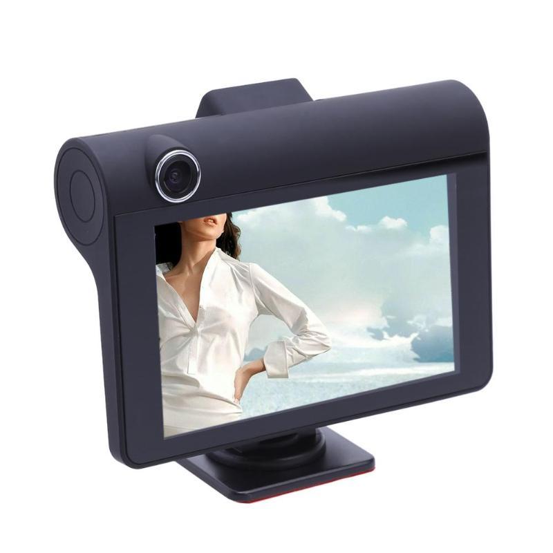 Câmera Do Carro DVR de Lente Dupla Dashcam 4 polegada Cam 1080 p Full HD Gravador de Vídeo Registrator Câmera Retrovisor G- sensor de Visão Noturna DVRS