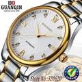 GUANQIN men mechanical automatic watches Diamond waterproof sapphire luxury steel hours men wristwatch watches brands men