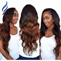 ALICROWN Ombre Lace Wig Human Hair 9A Brazilian Lace Frontal Wigs Body Wave Full Lace Human Hair Wigs For Black Women