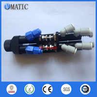 Frete Grátis Dedal de Alta Precisão Dupla Ação Pneumática Válvula de Controle de Fluxo de Cola Dispenser