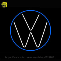 Car LOGO Neon Sign Garage Glass Tube Neon Bulb Indoor Personalized Display Business Lamp Arcade Sign
