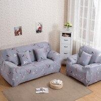Plum Blossom Printed Sofa Cover Slip Resistance Spandex Stretch Elastic Sofa Cover Case Slipcover All Inclusive