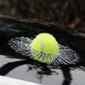 Universal 3D Car Sticker On Rearview Mirror Window Glass Tennis Ball Auto Decals For Audi BMW Toyota Decoration Accessories