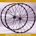 2018 RUJIXU 29er CROSSD TXT MTB горный велосипед CNC Велосипедное колесо прямые тянущиеся плоские спицы передние 2 задние 5 герметичные подшипники 15 мм