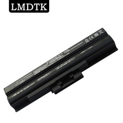 LMDTK Новый аккумулятор для ноутбука SONY VGN-FW19/B VGN-FW190EBH VGN-FW190EDH VGN-FW198U VGN-SR13 VGN-SR13/B 6 элементов Бесплатная доставка