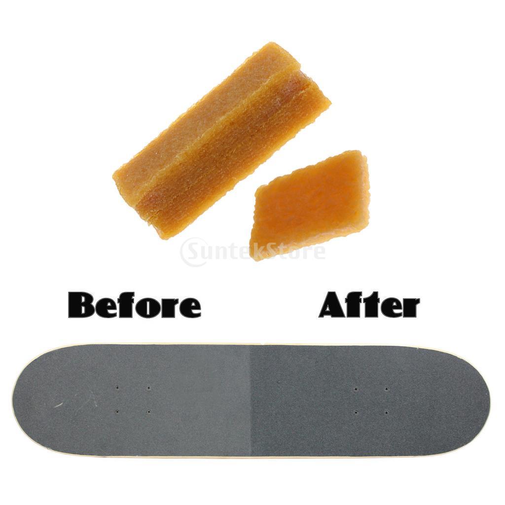 2pcs/set Longboard Skateboard Deck Sandpaper Grip Tape Cleaner/Dirt Remover/Eraser Cleaning Tool
