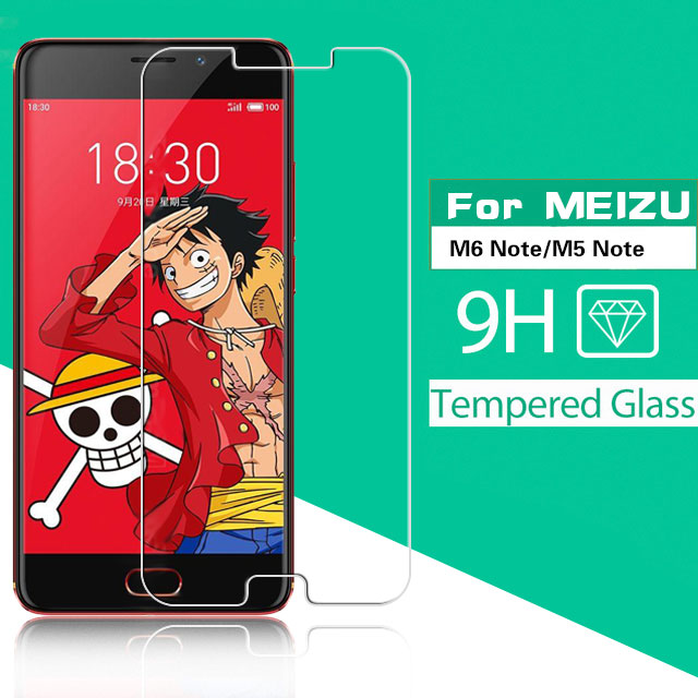 Ultra-thin 2.5D ARC Tempered Glass For <font><b>Meizu</b></font> M5 <font><b>M6</b></font> <font><b>Note</b></font> M621C M621H <font><b>M721L</b></font> Screen Protector Phone Protective Film Glass + Cloth image