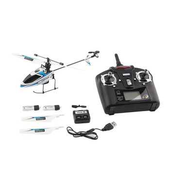 2.4G 4CH Single Blade Efficiency Motor RC Helicopter WLtoys V911 Helicopte with Transmitter Remote Control Drones Flying Toys