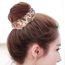 LNRRABC Sequins elastic hair ring dish artifact comfort care high quality bohemian personality ponytail girl accessories
