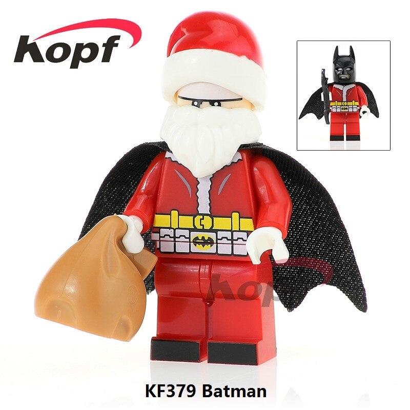 KF982 Super Heroes American Painter Bob Ross The Joy of Painting Bricks Building Blocks Learning Christmas Toys Gift Children