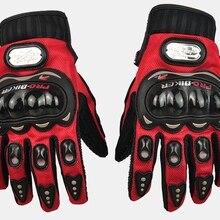 PRO-biker рыцарские перчатки для езды на мотоцикле по пересеченной местности полные рукавицы защита для воздушного хоккея